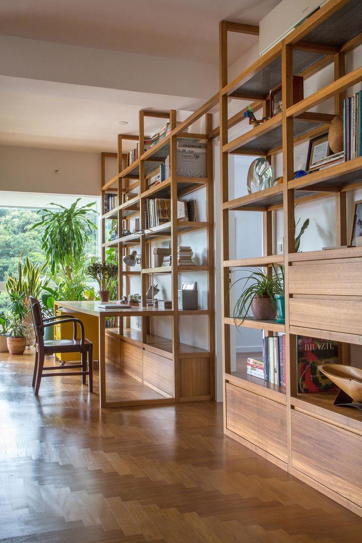 Die Renovierung der Wohnung von Estudio Chao zeigt wunderschöne Betonbalken – #…