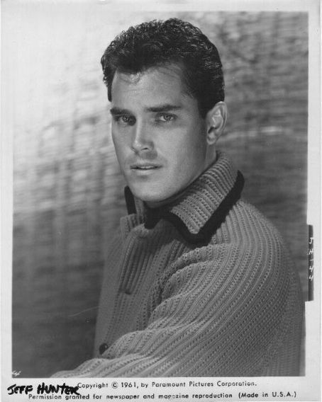 Jeffrey Hunter, 1961
