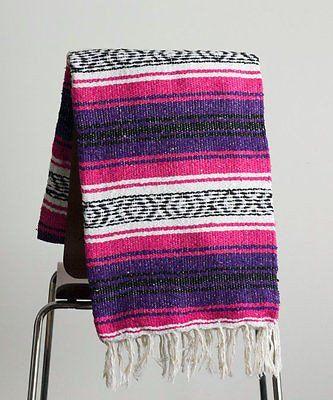Mexican Blanket Premium Pink