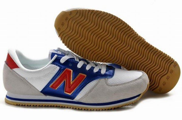 Joe New Balance U420 London 2012 Olympic edition classic Grey Blue Red 420 Women Shoes