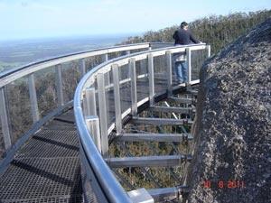 Granite Skywalk  Porongurup Range National Park