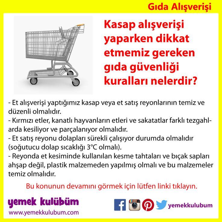 GIDA ALIŞVERİŞİ : Kasap Alışverişinde dikkat edilmesi gereken hususlar.  http://yemekkulubum.com/icerik_sayfa/et-ve-et-urunleri-alisverisi   #kasap #danaeti #market #alışveriş #et #hijyen #hijyenik #danakıyma #kıyma