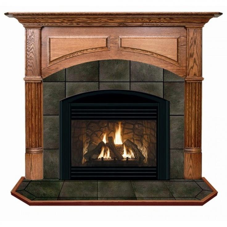 Hearth and Home Mantels Geneva Flush Fireplace Mantel - 6085