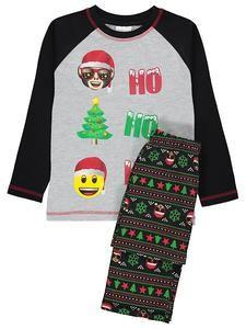 Kids Christmas Pajamas: Emoji Christmas Pyjamas – Novelty-Characters