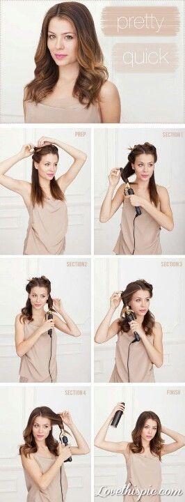 pretty quick hair style hair style diy easy diy diy hair diy fashion