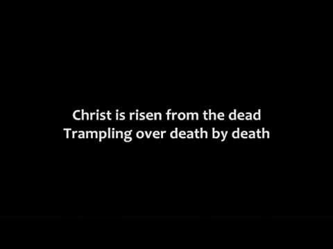 Let no one caught in sin remain  Inside the lie of inward shame  We fix our eyes upon the cross  And run to Him who showed great love    And bled for us  Freely You've bled for us    Christ is risen from the dead  Trampling over death by death  Come awake, come awake  Come and rise up from the grave    Christ is risen from the dead  We are one w...