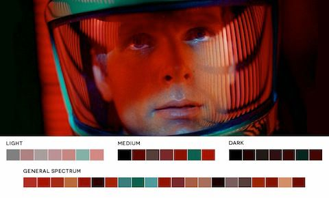 Color Palette Breakdowns of Classic Movie Stills Celebrate Beautiful Cinematography – Flavorwire