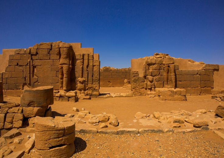 Sudanese Heritage, Part 2: the enigmatic ruins of Musawwarat es-Sufra by Eric Lafforgue