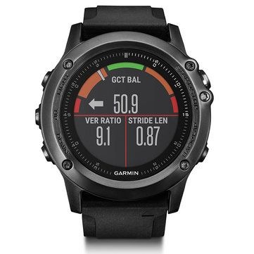 Garmin Fenix3HR Sapphire GPS+GLONASS Watch Outdoor Multi-Sports Wristwatch 100M Waterproof Smart Wifi Connect Photoelectricity Heart Rate Sensor Fitness Training For Running Climbing Swim Golf Sale - Banggood.com