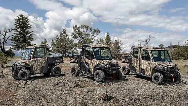 New 2016 Polaris RANGER Crew XP 570-6 EPS Polaris Pursuit ATVs For Sale in Florida. 2016 Polaris RANGER Crew XP 570-6 EPS Polaris Pursuit Camo, RANGER CREW® XP 570-6 EPS Polaris Pursuit® Camo Work or Hunt From Sun Up to Sun Down in Comfort for 6 NEW! Powerful 46 HP ProStar® EFI engine Increased Suspension Travel and Refined Cab Comfort, Including Lock & Ride Pro-Fit Accessory Integration HARDEST WORKING FEATURES THE PROSTAR® ENGINE ADVANTAGE: The RANGER 570 ProStar® engine is purpose built…