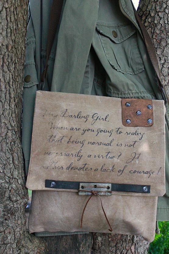cinnamon creek dry goods   Darling Girl Bag 11 x11 ....44-