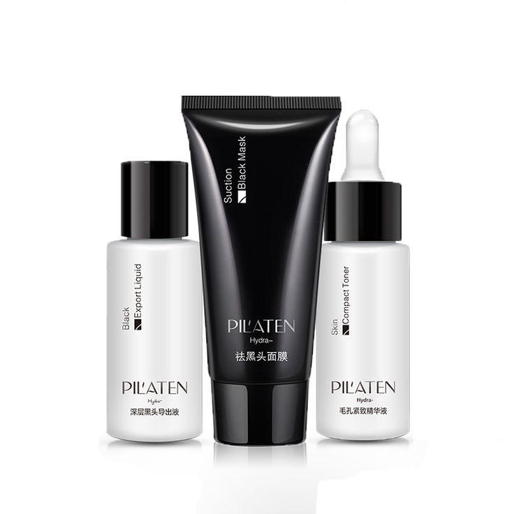 How to remove blackheads - PILATEN 3 Piece Suite - PILATEN® - Get Yours Today!