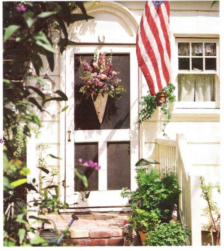 ~ screen door ideas - Slamming Screen Door ~ A Summer Song - On Sutton Place