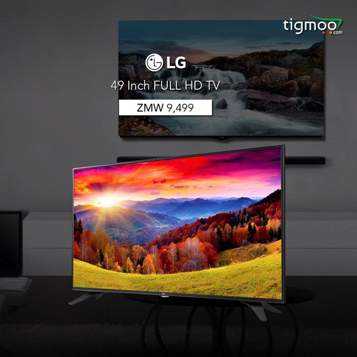 Buy 49 inch #FULLHD #LGTV 49LH602V from #tigmoo at an affordable price of ZMW 9499.  Order now: https://www.tigmoo.com/lg-49-49lh602v-full-hd-tv.html