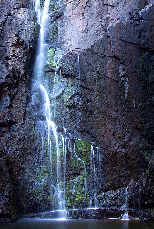 MacKenzie falls, Grampians national park, Victoria, Australia. Let me go!