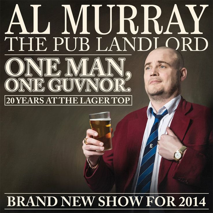 #AlMurray is about to embark on tour, check him out on video at  http://oztvreviews.com/2011/07/al-murray-the-pub-landlord/