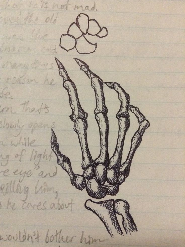 Skeleton Hand I Guess by IFADEU337 on DeviantArt