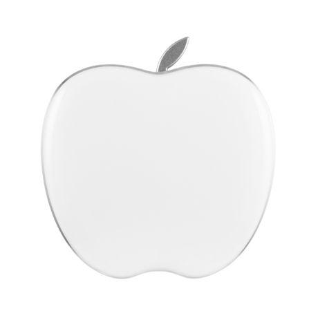 大容量りんご型モバイルバッテリー Luxe 5000mAh / WHITE by Apelpi