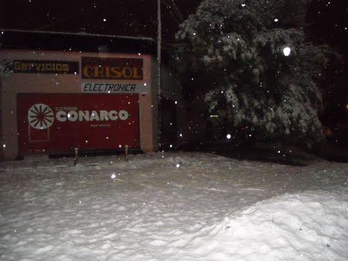 Nieve nocturna en C-Co