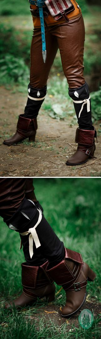 Triss Merigold cosplay Boots, The Witcher 3: Wild Hunt, shoes, witch, charmed, sorceress, charmer, Triss Merigold of Maribor $199.00 Buy your costume on www.etsy.com/shop/ShopCosplayCostume #Triss #Merigold #cosplay #Boots #TheWitcher3 #WildHunt #shoes #witch #charmed #sorceress #charmer #TrissMerigold #Maribor #dragoncon #comiccon #buy #shop