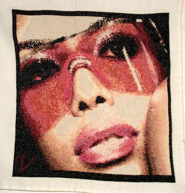 #Aaliyah... #PcStitch...
