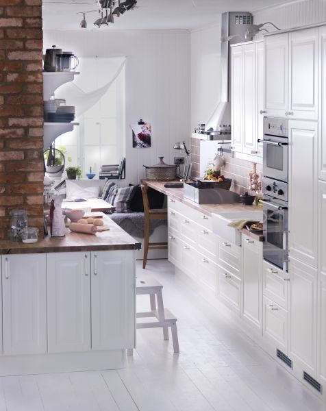 tiny, but stylish kitchen.