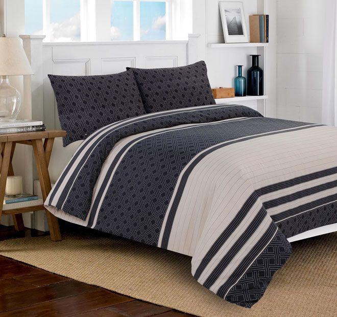 Apartmento Parker Quilt Cover Range Charcoal