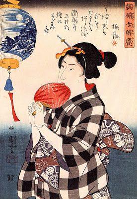 Non c'è vita senza Arte, non c'è Arte senza vita: Le lanterne di carta nelle opere di Utagawa Kuniyoshi e Utagawa Hiroshige