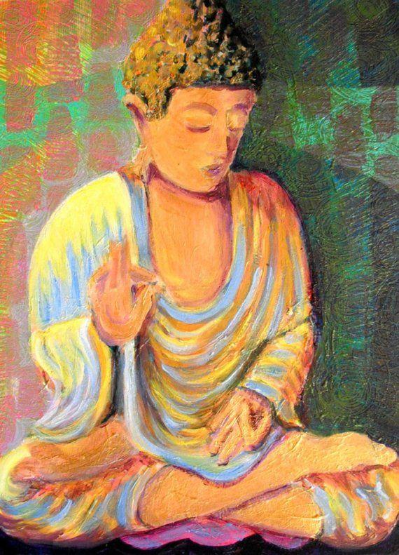 33 best art - Buddha images on Pinterest | Buddha, Buddha painting ...