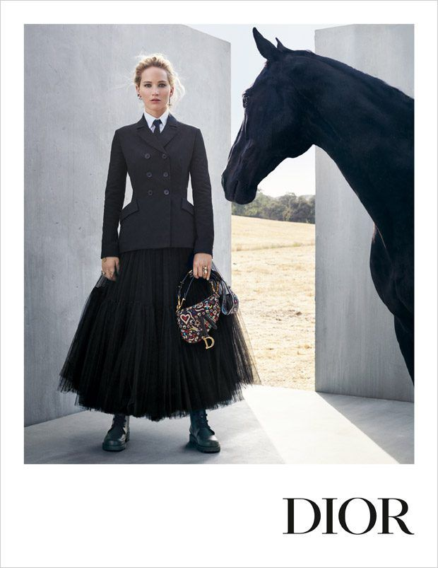 f8e48d0dff4 Jennifer Lawrence is the Face of Dior Cruise 2019 Collection ...