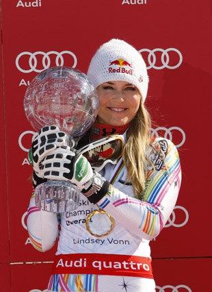Lindsey Vonn wants to race against men (Getty) #Women #skiing