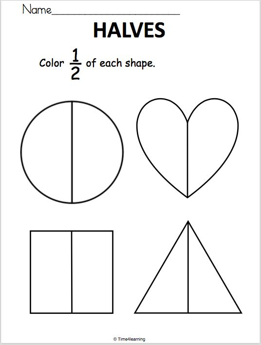 best 25 fractions of shapes ideas on pinterest math fractions teaching fractions and. Black Bedroom Furniture Sets. Home Design Ideas