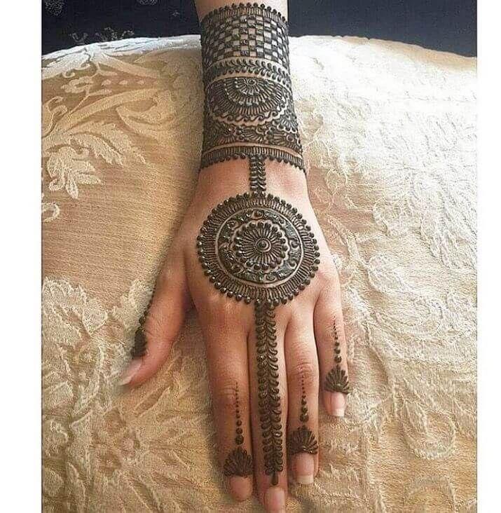 unique mehndi design collection for girls