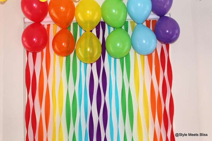 Rainbow Party Birthday Party Ideas | Photo 1 of 11