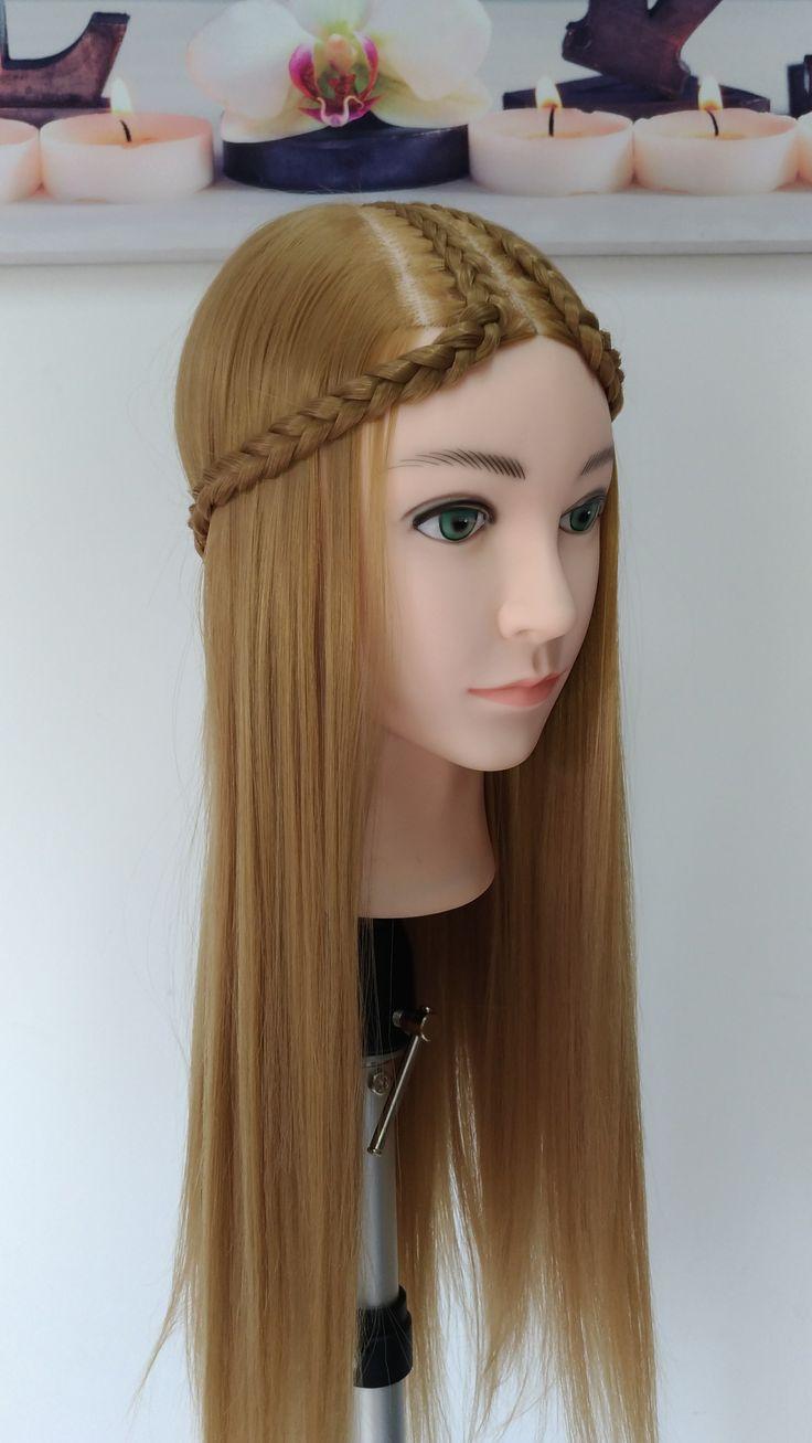 Peinado con Diadema Egipcia