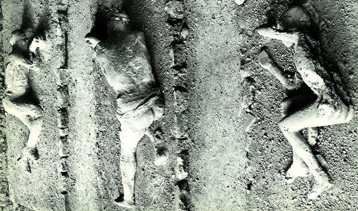 Pompeii victims casts