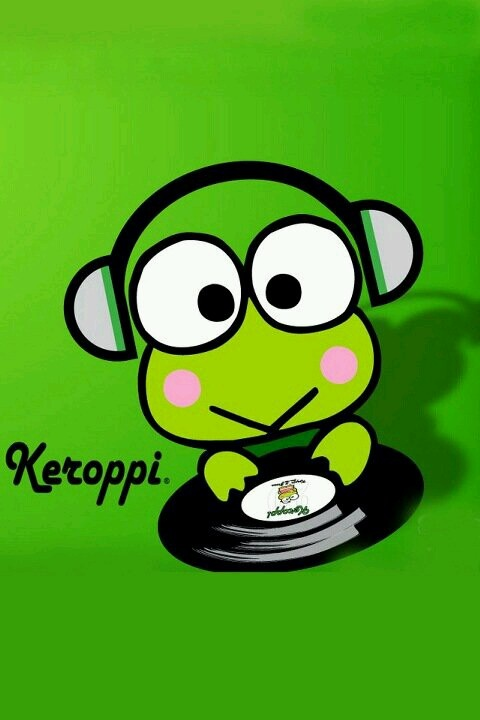 "I love frogs in general, so it is just normal for me to be a Keroppi fan! (in fact they called me ""Kero"" in school jajaja)"