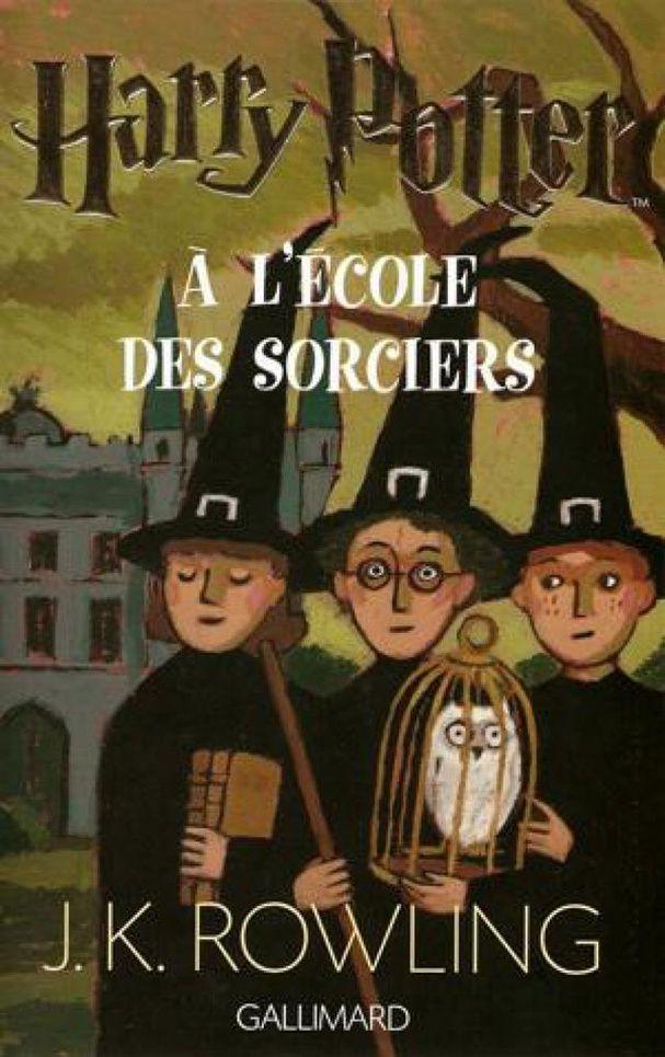 """""""Harry Potter à l'école des sorciers"""" de J.K. Rowling (1997)"""