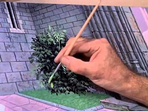 Great documentary about 4 famous Disney background artists!