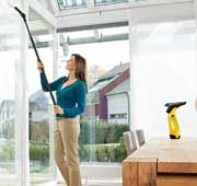 Window Cleaner Karcher with extension pole now available. For XMAS please Dad!