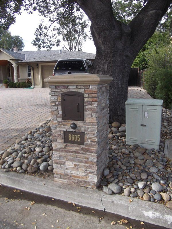 23 Best Images About Decorative Residential Mailboxes On