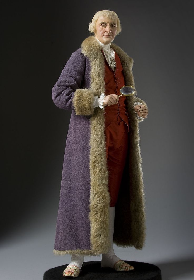 Thomas Jefferson - how cool! I believe this is a George Stuart doll. Wish I had this in high school to give to my history teacher, a loyal Jeffersonian!