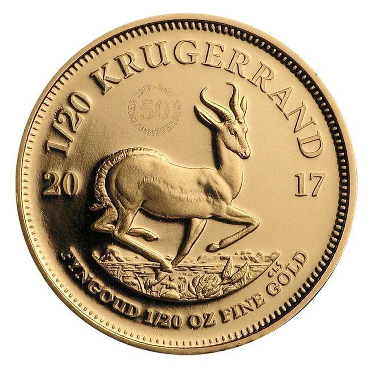 1/20 oz Goldmünze Krügerrand Südafrika 2017 PP Polierte Platte Gold (917/1.000)