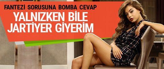 En son 'Türk Malı' dizisinde rol alan 24 yaşındaki oyuncu Buse Narcı'nın, verdiği röportajda çok ateşli olduğunu, tek başına uyurken bile jartiyer giydiğini söyledi.