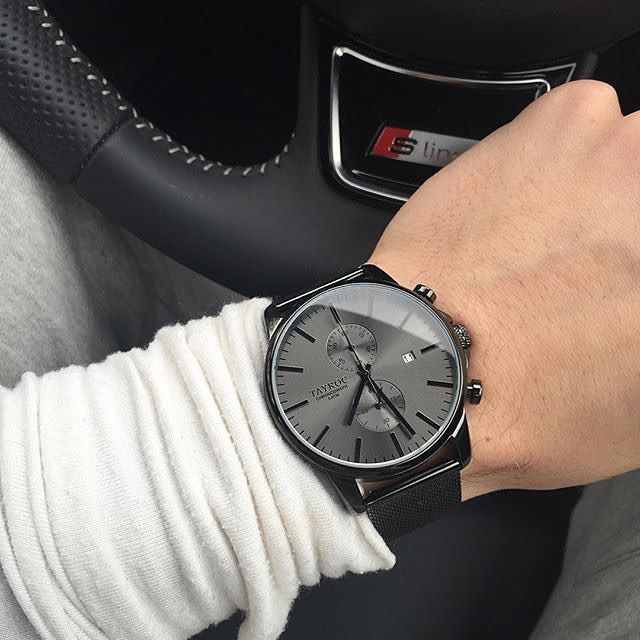 Casual or smart dress. TXM094 by @tayroc ideal for any outfit. Follow @tayroc for more affordable & luxurious watches www.tayroc.com - designer mens watches for cheap, mens discount designer watches, mens gold watches cheap - swiss watches for men, mens c