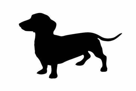 Dachshund Decal Dog Lover Decals Dachshund Gifts Weenie Dog