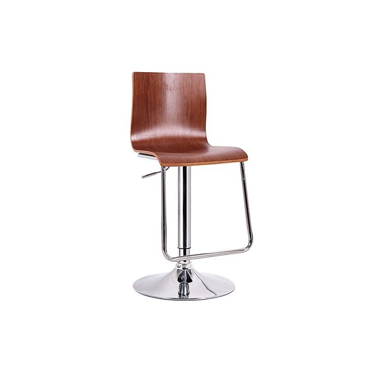 Home Marketplace Lynch Light Wood Modern Bar Stool - Brown