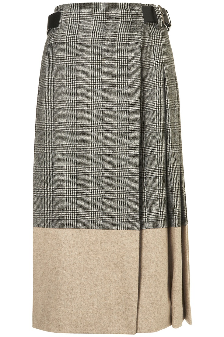 How cool is this Topshop Unique skirt?