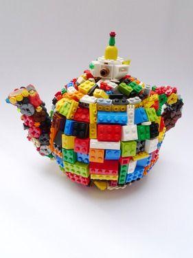 "Saatchi Online Artist Finn Stone; Mixed Media, ""Toy Pot"" #art"