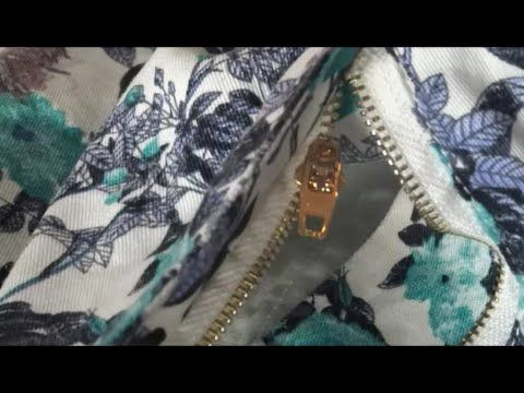 Videotutorial: truco para arreglar la cremallera de un pantalón sin descoserla